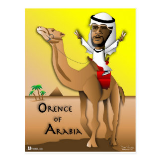 Orence of Arabia Postcard