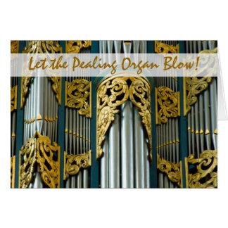 Organ, Breda, Netherlands Christmas card