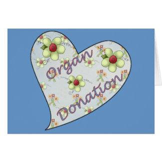 Organ Donation Card