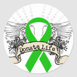 Organ Donation Stickers