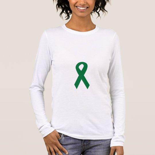 Organ Donor Ribbon Long Sleeve T-Shirt
