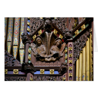 Organ, Ely Cathedral, UK  greeting card