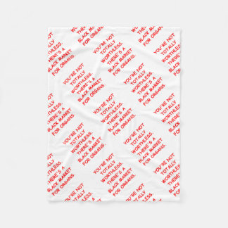 ORGAN FLEECE BLANKET