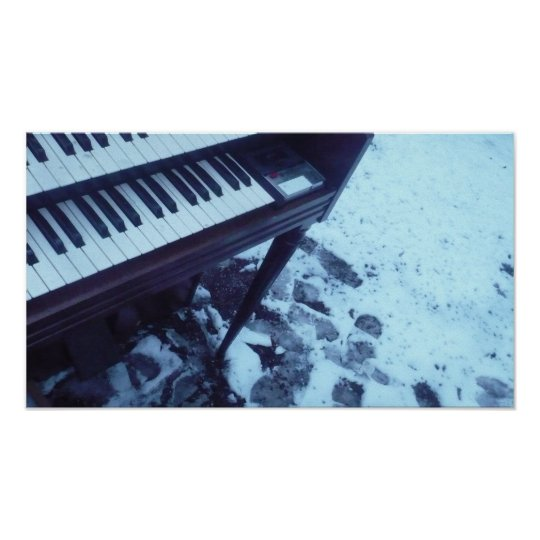 Organ in the Snow Poster