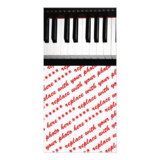 Organ Keyboard Photo Greeting Card
