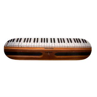 Organ keyboard skateboard decks