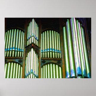 Organ Pipes (3) Poster