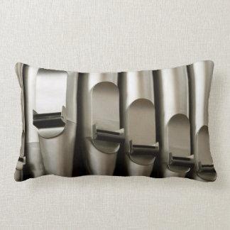 Organ pipes lumbar pillow