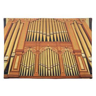 Organ pipes placemats