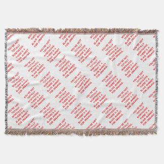 ORGAN THROW BLANKET