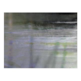 Organic abstract #1451 postcard