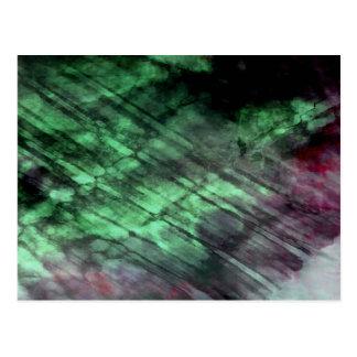 Organic abstract #1460 postcard
