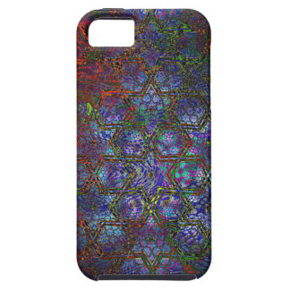 Organic and Geometric Psychedelic Modern Art iPhone 5 Case