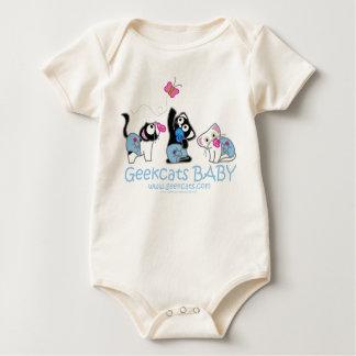 Organic Body Geekcats Baby Baby Bodysuit