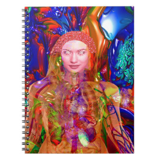 Organic Body Spiral Notebook