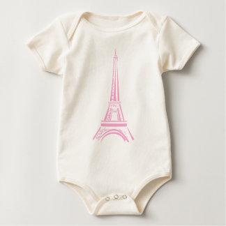 ORGANIC bodystocking Eiffel-tower Baby Bodysuit