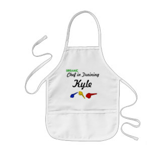 Organic Chef in Training Kids Apron