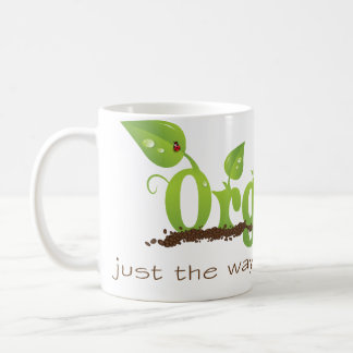 Organic Christian coffee mug