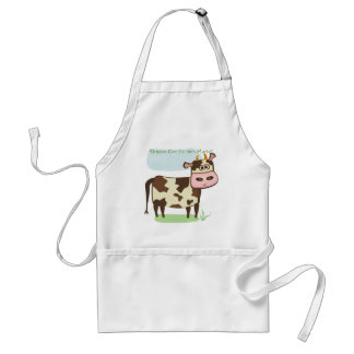 Organic Cow Farmers Market Aprons