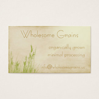 Organic Delight Business Card
