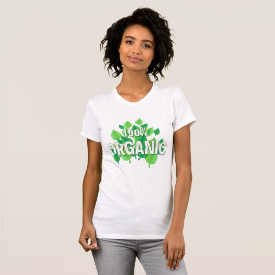 Organic design for all who care about the Earth, e T-Shirt