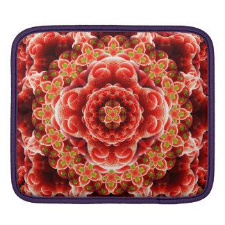 Organic Dimension Mandala iPad Sleeves