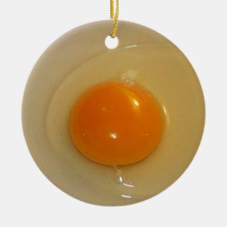 Organic Egg ornament