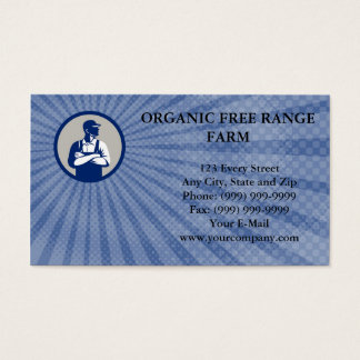 Organic Farmer Business card