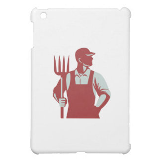 Organic Farmer Pitchfork Retro Cover For The iPad Mini