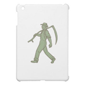 Organic Farmer Scythe Walking Mono Line Case For The iPad Mini