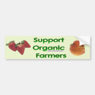 Organic Farmers Bumper Sticker