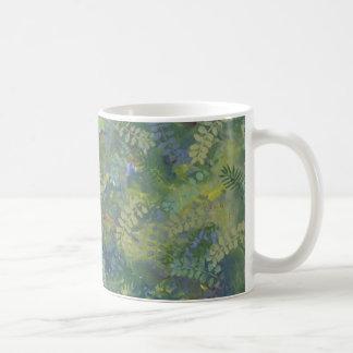 organic fern mug