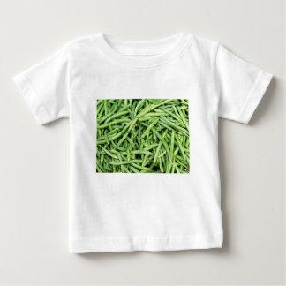 Organic Green Snap Beans Veggie Vegitarian Baby T-Shirt