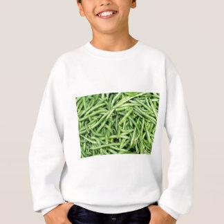 Organic Green Snap Beans Veggie Vegitarian Sweatshirt