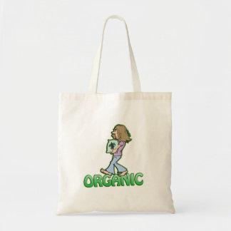 ORGANIC hippie with organic food Tote Bag