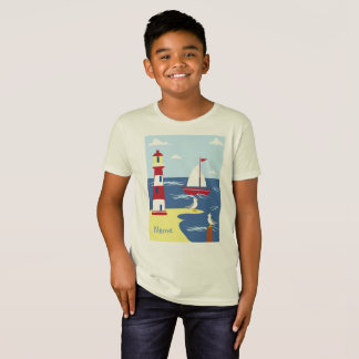 Organic Kids - Nautical Boys T-Shirt Personalized