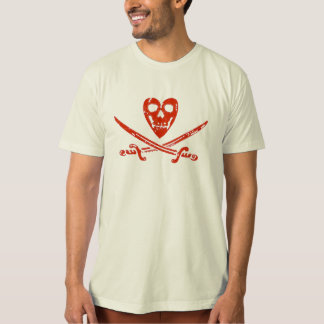 Organic Kissourine Jolly Roger T-Shirt