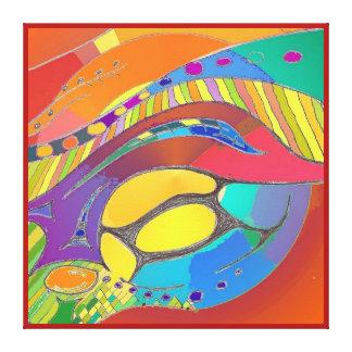 Organic Life Scan or Cellular Light - Original Sqr Canvas Print