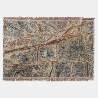 Organic Marble Pattern. Throw Blanket