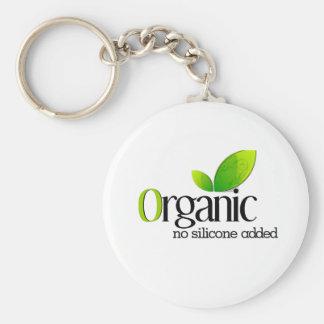 Organic - No Silicone Added Keychain