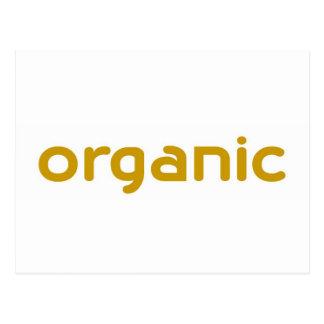 organic postcard