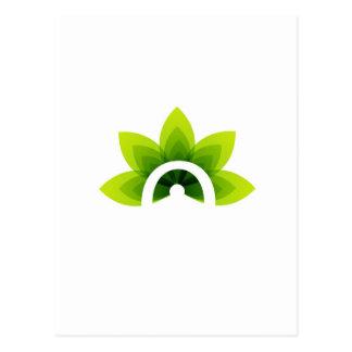 Organic Product Postcard