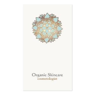 Organic Skincare Cosmetology Lotus Business Card