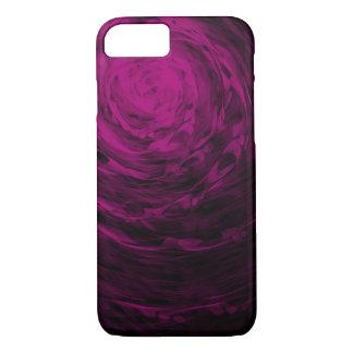 Organic Spiral3 Purple - Apple iPhone Case