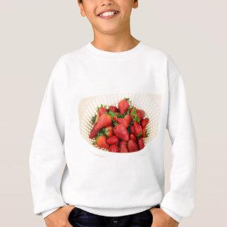 Organic Strawberries in a Colander Sweatshirt