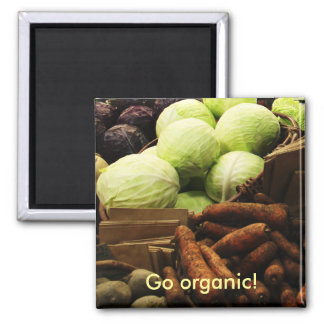 Organic Veggies magnet