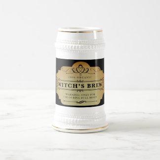 Organic Witch's Brew Beer Stein