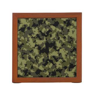 Organiseur De Bureau Motif militaire de style de camouflage
