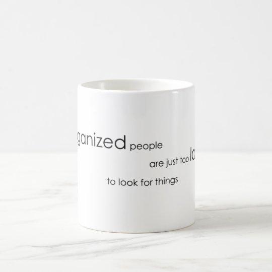 Organization Coffee Mug