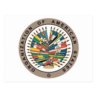 Organization of American States, English Postcard